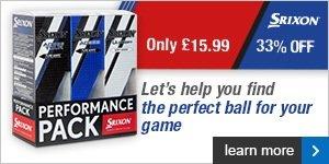 Srixon Performance Packs