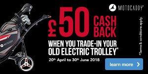 Motocaddy Trolley Trade-In - £50 Cashback